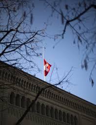 Federal Flag Half Mast Belgium Mourns Bus Crash Victims Photos