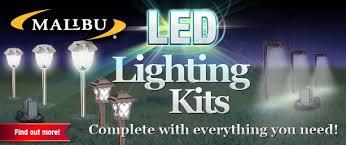 Outdoor Landscape Lighting Kits Wonderful Looking Led Landscape Lighting Kits Light Design
