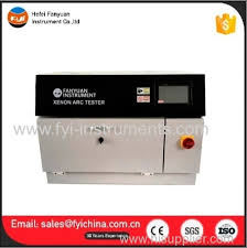 xenon arc l supplier air cooled xenon l test chamber from china manufacturer hefei