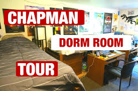 extended chapman dorm room tour youtube