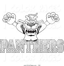 panthers coloring pages glum