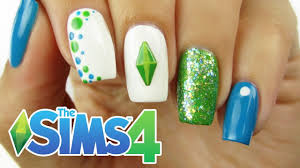 the sims 4 nail art cuteplay countdown 4 youtube