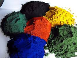 concrete color pigment iron oxide yellow made in china manufacture