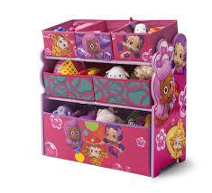 Bathroom Toy Storage Ideas Nickelodeon Bubble Guppies Multi Bin Toy Organizer Free Shipping