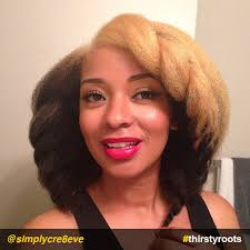 pictures of a black blowout hairstyle natural hairstyles blonde and black