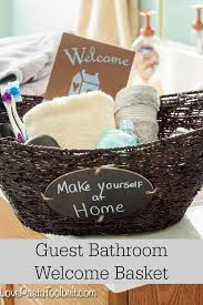 bathroom gift ideas best 25 welcome home basket ideas on vacation gift