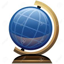 science desk globe icon royalty free cliparts vectors and stock
