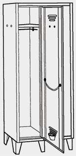 armadietto spogliatoio dimensioni fiamat sistemi di arredamento dimensioni armadio spogliatoio