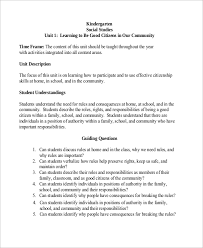 sample kindergarten lesson plan 8 examples in pdf