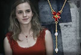 hermione necklace images Hermione red crystal necklace at jpg