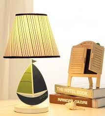 Minimalist Desk Lamp 2017 Cute Little Wooden Sailboat Minimalist Table Lamp Bedside