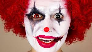 Mens Halloween Makeup Ideas Scary Clown Halloween Makeup Youtube