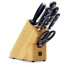 K Henblock Zwilling J A Henckels 7 Pc Tradition Knife Block Set 38662