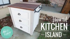How To Make A Kitchen Table by How To Make A Kitchen Island Youtube