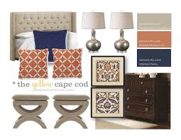 master bedroom the yellow cape cod newlywed39s navy and terra