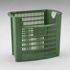 poubelle bureau corbeille poubelle bureau tri selectif 32l ajouré à ouverture vert