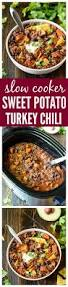 leftover thanksgiving turkey chili recipe slow cooker turkey quinoa chili with sweet potatoes and black