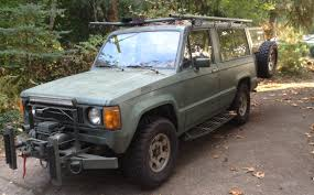 isuzu trooper vintage 80 u0027s survivalist bugout vehicle youtube
