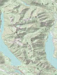 Easton Map Domerie Peak Trail 1308 Easton Ridge Trail 1212 French Cabin