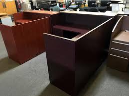 Reception Desks New Cherryman Reception Desk Arizona Office Furniture