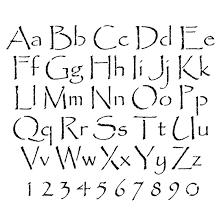 stencils alphabet stencils papyrus lettering stencils