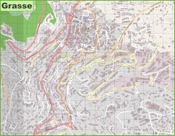 Eugene Map Large Detailed Map Of Grasse