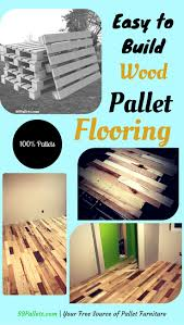 pallet flooring easy to build at no cost pallet floors