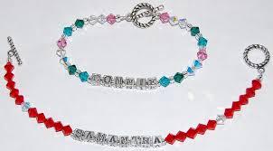 custom birthstone bracelets custom birthstone bracelet custom handmade bridal birthstone