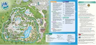 Florida Attractions Map May 2016 Walt Disney World Park Maps Photo 8 Of 14