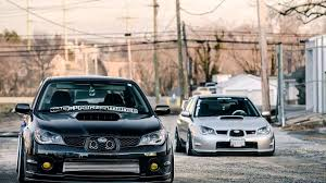 stanced subaru hd subaru impreza hawkeye tuning cars youtube