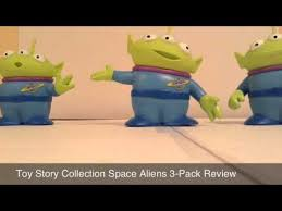 toy story collection space aliens review