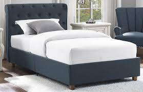 Twin Bed Frames Overstock Dhp Furniture Carmela Upholstered Twin Bed