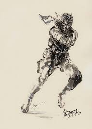 metal gear solid solid snake live art youtube