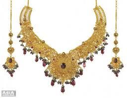 big gold necklace set images 22k antique necklace set ajns54337 22k gold antique necklace jpg