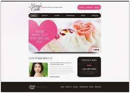 wedding cake websites 65 wedding website templates free premium web creative all