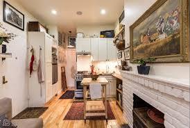 Interior Design Ideas For Apartments Couple Fills A 242 Square Foot Village Apartment With Brilliant