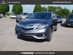 new 2018 acura rdx awd with advance package suv in fayetteville