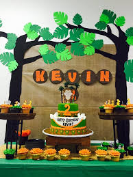 jungle themed birthday party jungle themed birthday party with diy decorations backdrop and