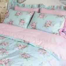Shabby Chic Crib Bedding Sets by Bedding Set Blue Shabby Chic Bedding Celebration Ruffle Bedding