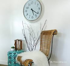 How To Hang Pictures On A Wall How To Hang A Heavy Clock Utr Déco Blog