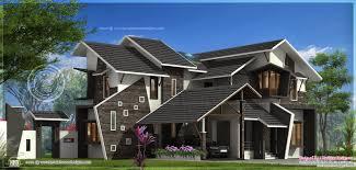 kerala home design blogspot 2009 archive 2988 sq ft uniquely designed house exterior kerala home design