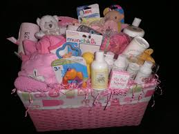 gift ideas for baby shower baby shower basket ideas woven plastic basket with pacifier