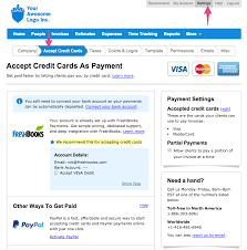 how do i receive online payments freshbooks