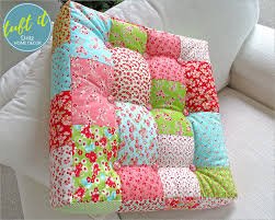 Dritz Home Decorative Nails Square Patchwork U0026 Tufted Couch Cushion Dritz Home Decor Sew4home