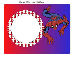 spiderman party free printable candy bar labels fiesta