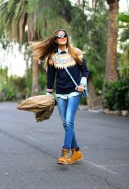 22 Cute To Wear With Timberland Boots For Girls