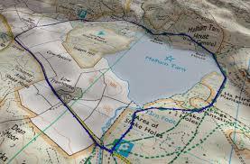 Aa Route Map Malham U2013 Muddy Boots