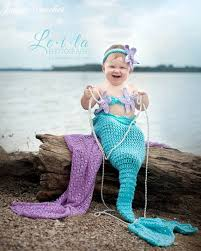Infant Mermaid Halloween Costume Crochet Baby Mermaid Chd006 Blue Pikaboo Baby Shop