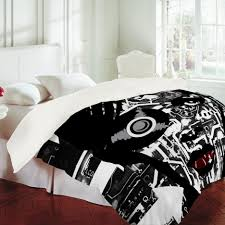bedroom appealing enchanting black and white room and gray sofa