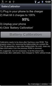 android battery calibration calibrate battery on android devices with battery calibration